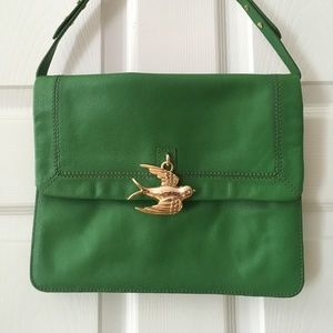 Leather Purse with Sparrow Charm | Juicy Couture